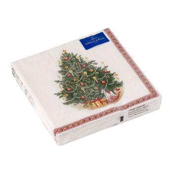 Winter Specials Luncheon Napkin: Fir Tree
