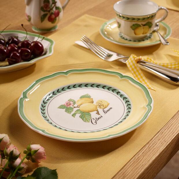 French Garden Valence Lemon Salad Plate, , large