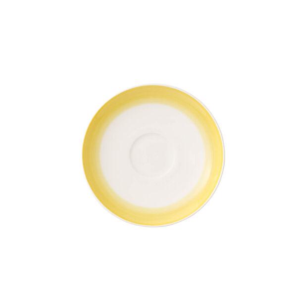 Colorful Life Lemon Pie Espresso Cup Saucer, , large