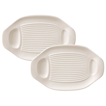 BBQ Passion Grilled Vegetable Plate, Set of 2