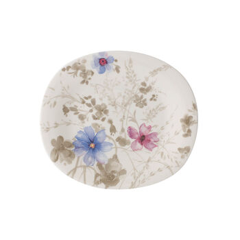 Mariefleur Gris Oval Salad Plate