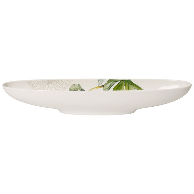 Quinsai Garden oval bowl 29 x 7 cm, , large