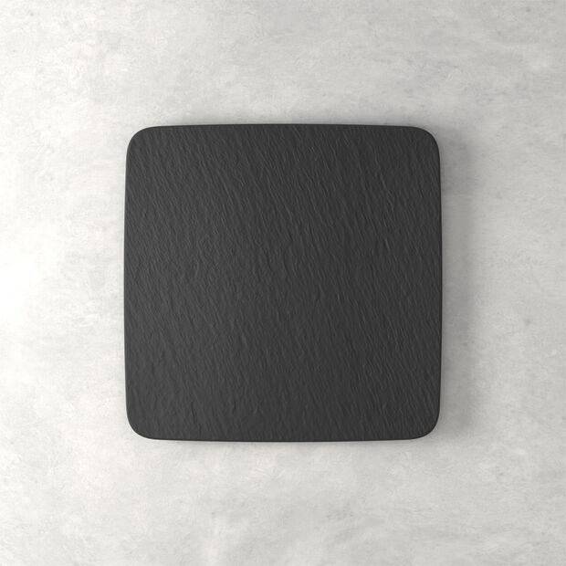 Manufacture Rock Square Serving Plate, , large