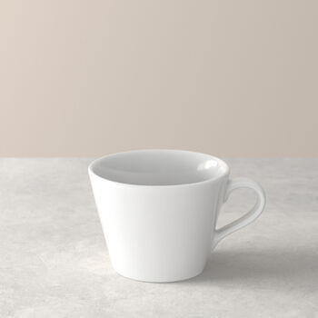 Organic White Coffee Cup