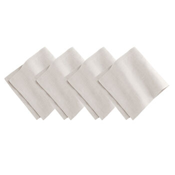 La Classica Napkin: Dove Grey, Set of 4