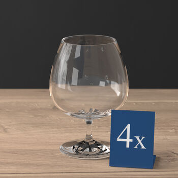 Purismo Brandy Goblet, Set of  4