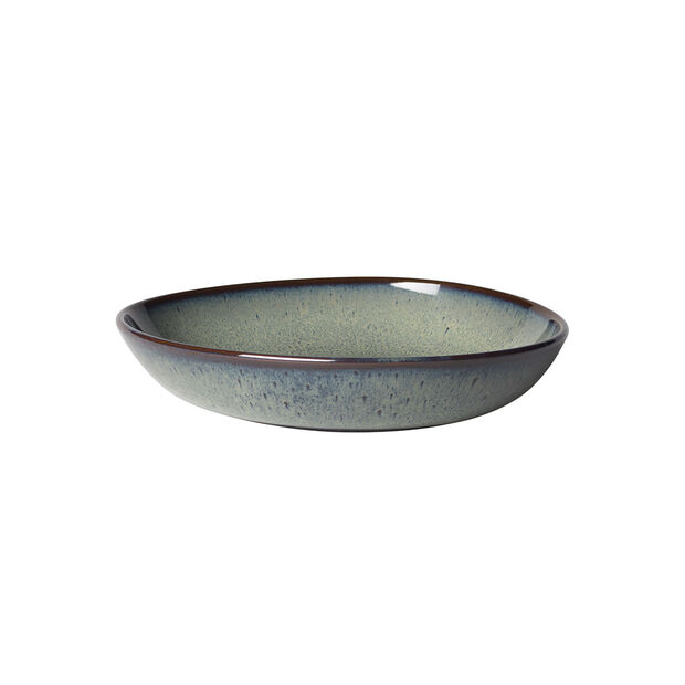 Lave Gris Flat Bowl, Small, , large