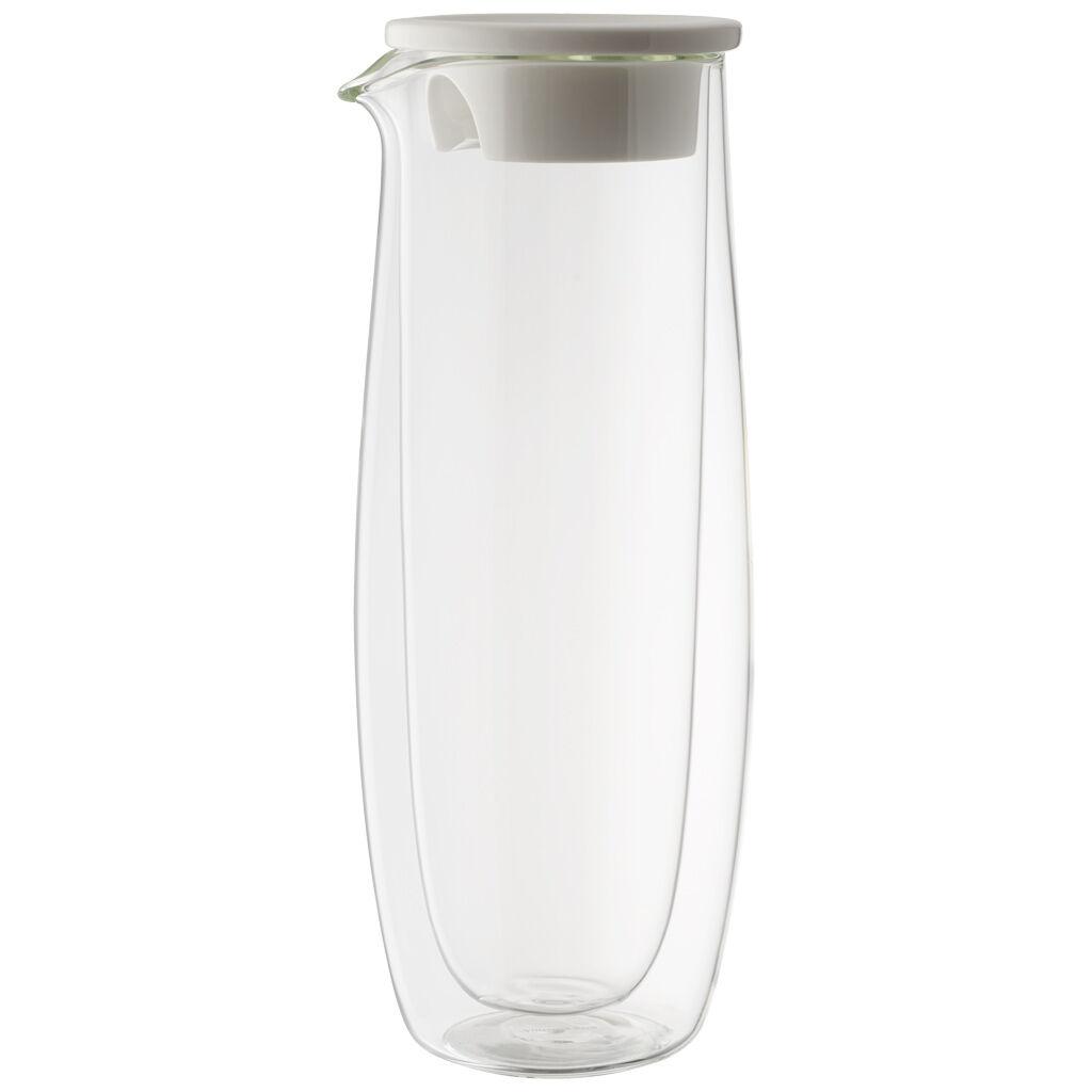 빌레로이 앤 보흐 아르테사노 글래스 카라페 Villeroy & Boch Artesano Hot Beverages Glass Carafe with Lid 33 3/4 oz