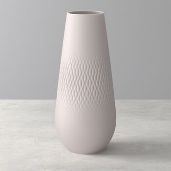 Manufacture Collier Sand Carre Vase, Tall