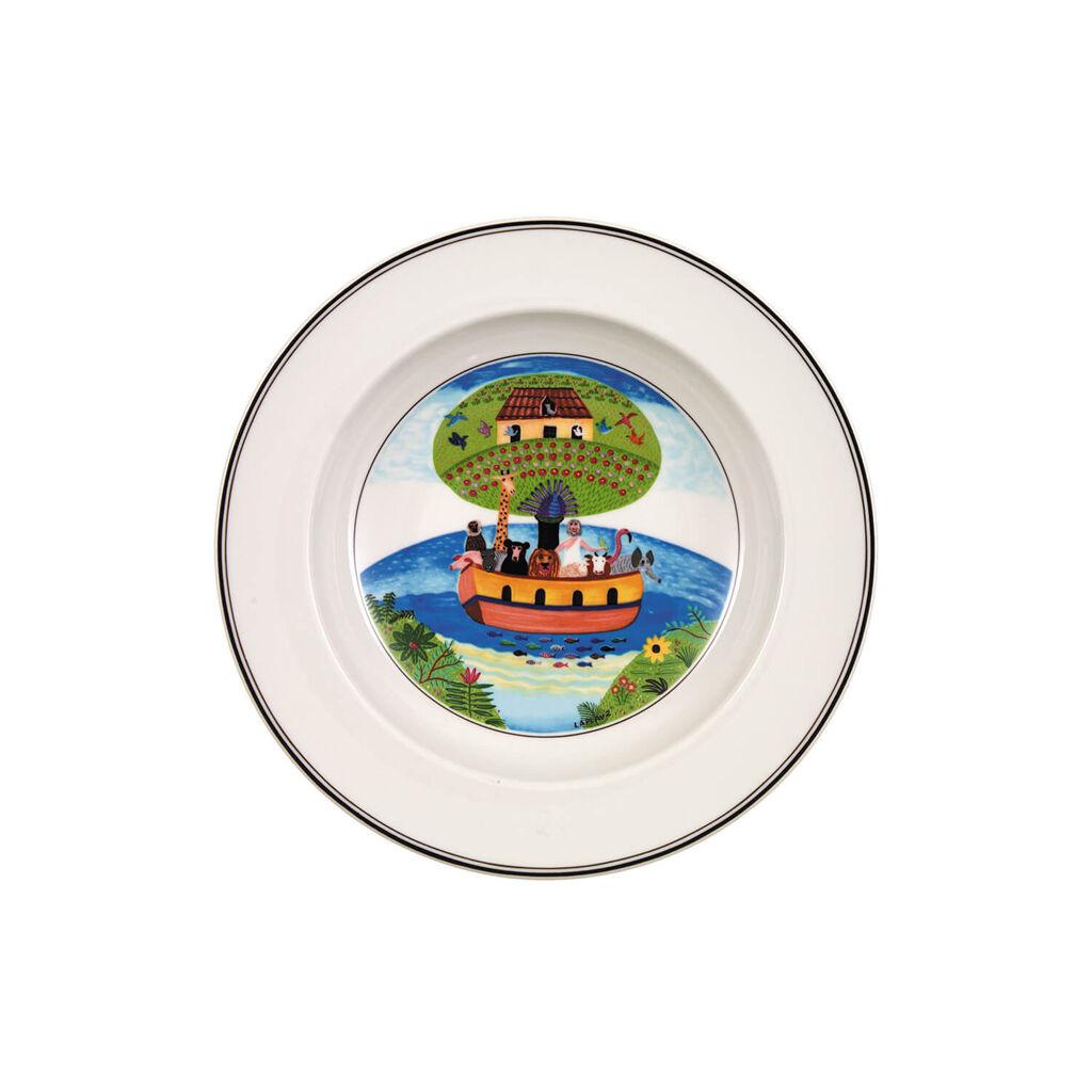 빌레로이 앤 보흐 디자인 나이프 수프볼 Villeroy&Boch Design Naif Soup Bowl #2 - Noahs Ark 8 1/4 in