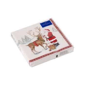 Winter Specials Cocktail Napkin: Reindeer