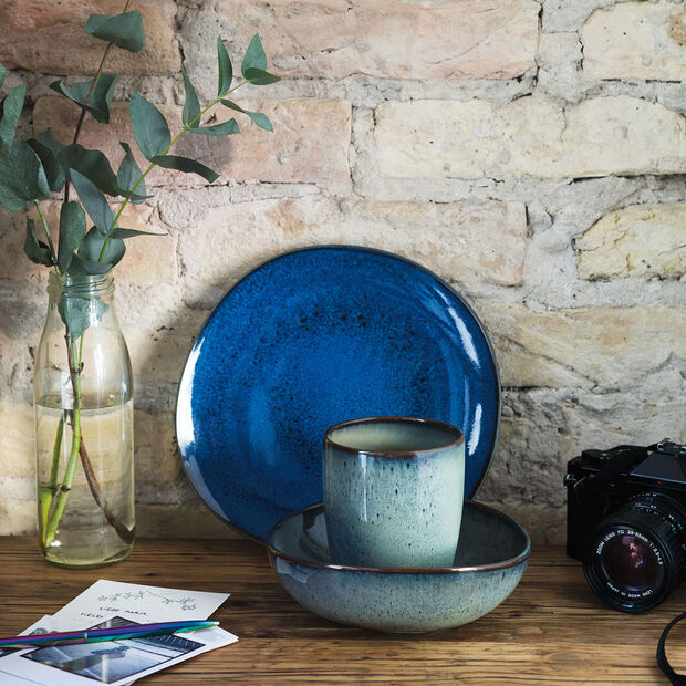 Lave Bleu Salad Plate, , large