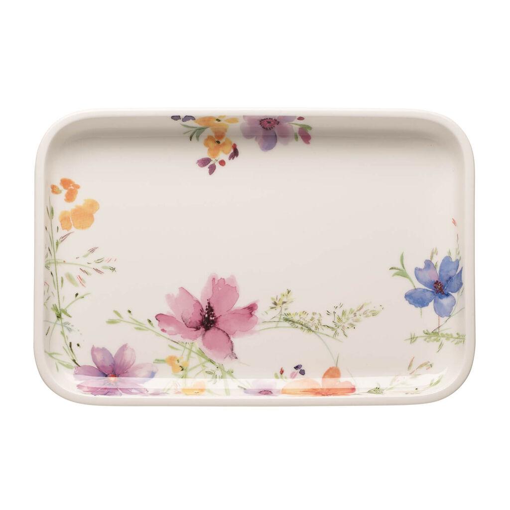 빌레로이 앤 보흐 마리플뢰르 서빙 접시 Villeroy & Boch Mariefleur Basic Baking Dishes Rectangular Serving Plate/Lid 12.5 in