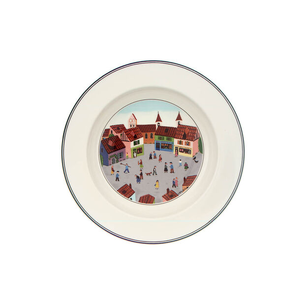 Design Naif Rim Soup #4 - Old Village Square, , large