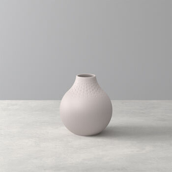 Manufacture Collier Sand Perle Vase, Small