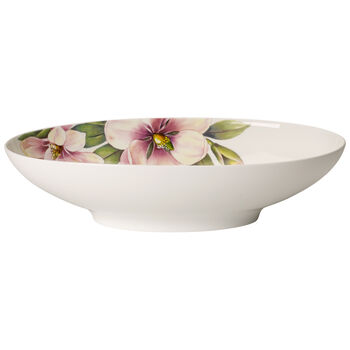 Quinsai Garden Oval Vegetable Bowl, Medium