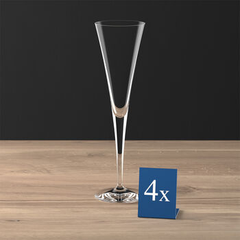 Purismo Champagne Flute, Set of 4