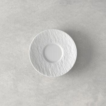 Manufacture Rock Blanc Espresso Cup Saucer