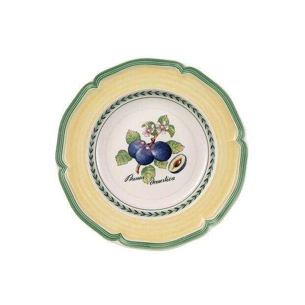 French Garden Valence Plum Rim Soup, , large