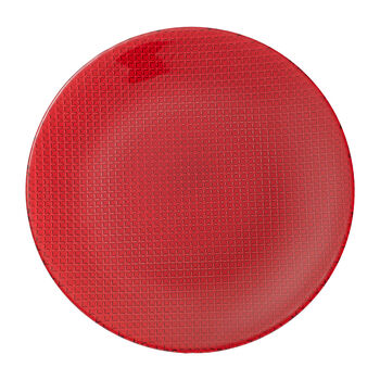 Colour Concept Buffet Plate: Red