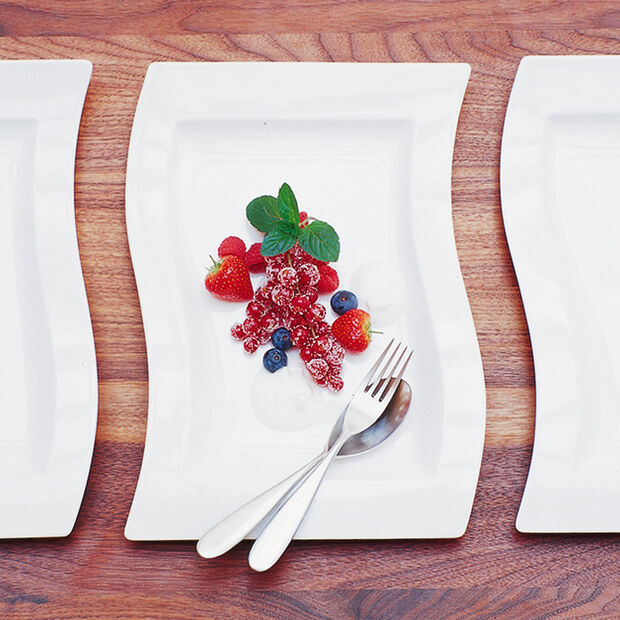 NewWave Rectangle Salad Plate, , large