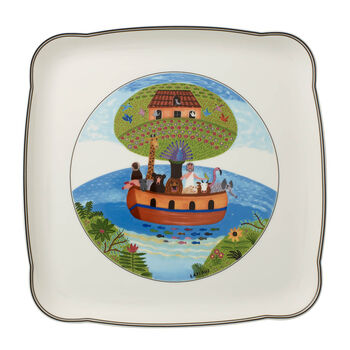 Charm & Breakfast Design Naif Square Platter