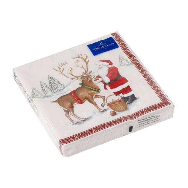 Winter Specials Luncheon Napkin: Reindeer, , large