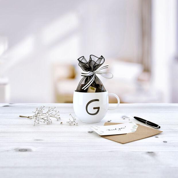 Letters Mug: G, , large