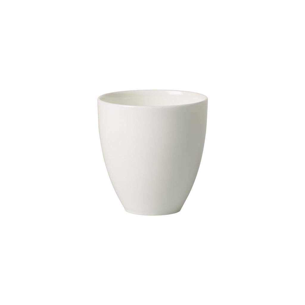 빌레로이 앤 보흐 '메트로 시크' 티컵 Villeroy & Boch MetroChic blanc Gifts Tea Cup (no handle) 5 oz