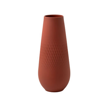 Manufacture Collier Terre Carre Vase, Tall