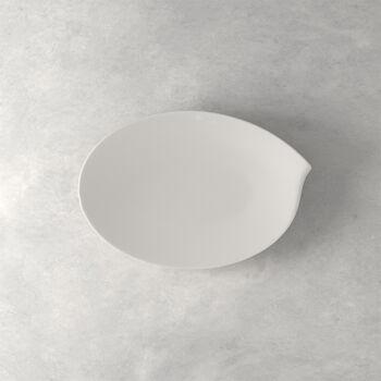 Flow Medium Oval Platter