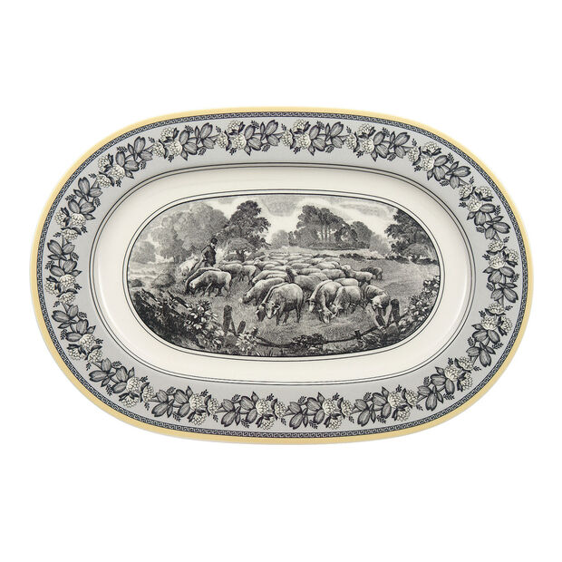 Audun Ferme Oval Platter, , large