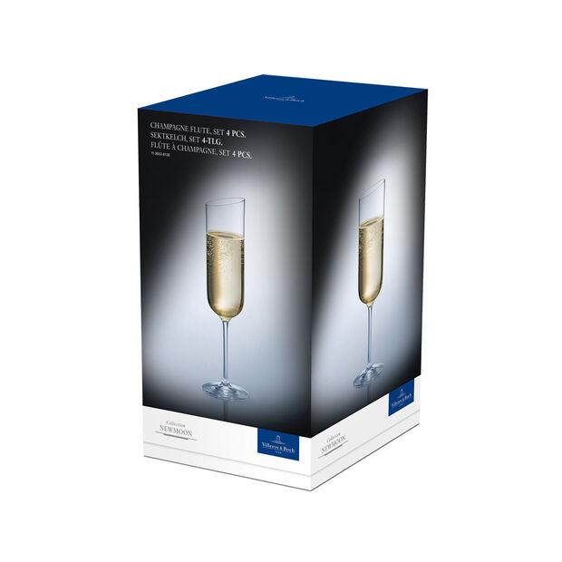 NewMoon Champagne, Set of 4, , large