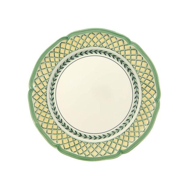 French Garden Orange Dinner Plate, , large
