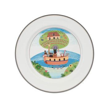 Design Naif Dinner Plate #2 - Noah's Ark