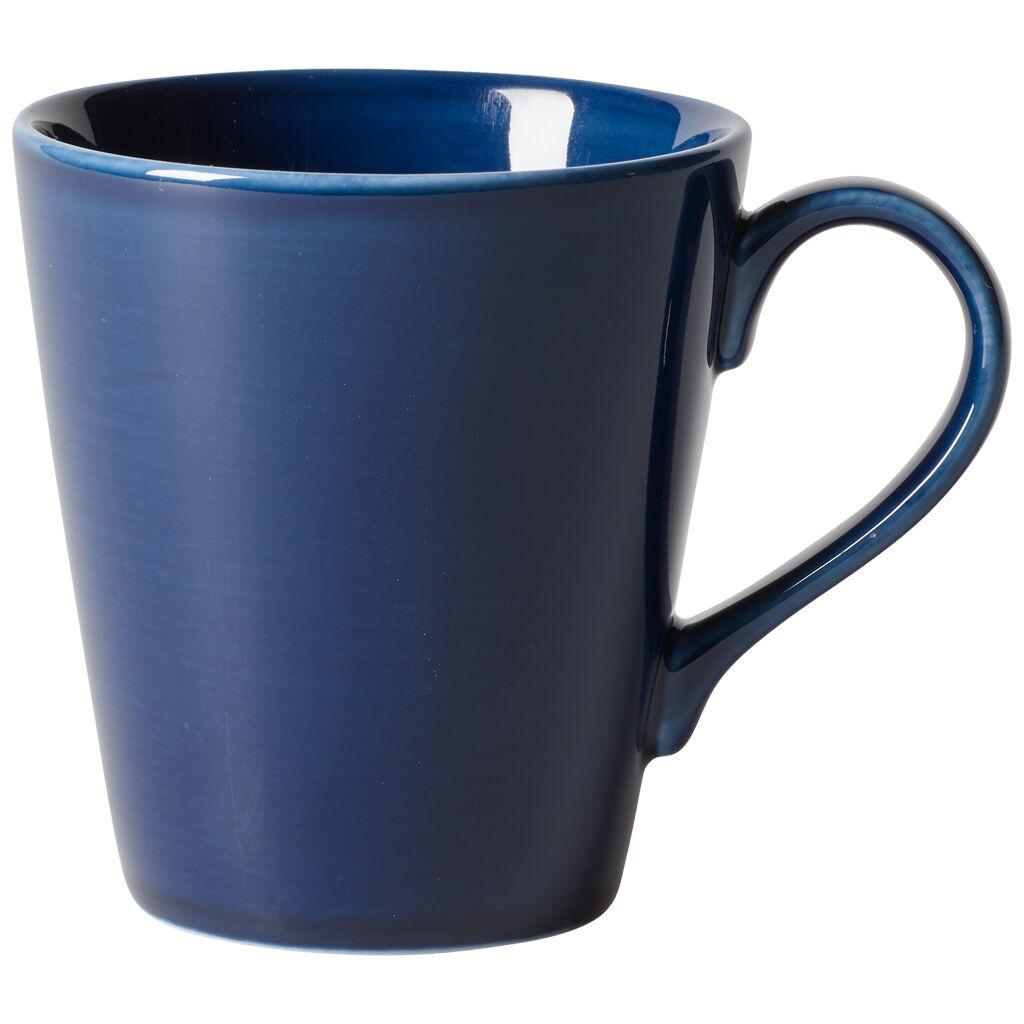 빌레로이 앤 보흐 오가닉 딥 블루 머그 Villeroy & Boch Organic Deep Blue Mug 11.75 oz