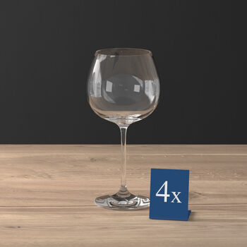 Purismo Full-Bodied Red Wine Goblet, Set of 4