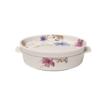Mariefleur Gris Baking Dish Round Serving Dish/Lid