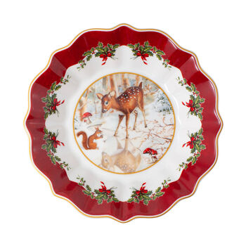 Toy's Fantasy Small Footed Bowl: Fawn