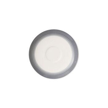 Colorful Life Cosy Grey Espresso Cup Saucer