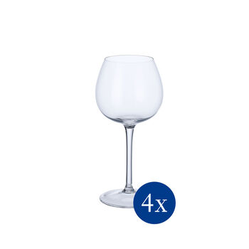 Purismo Soft + Rounded White Wine Goblet, Set of 4