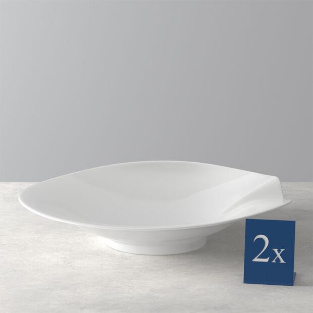 Pasta Passion Large Pasta Plate, Set of 2, , large