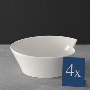NewWave Large Round Rice Bowl, Set of 4