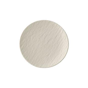 Manufacture Rock Blanc Appetizer/Dessert Plate