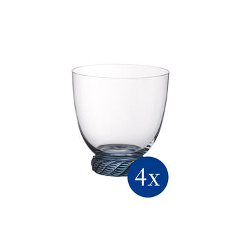 Montauk DOF/Tumbler: Aqua, Set of 4