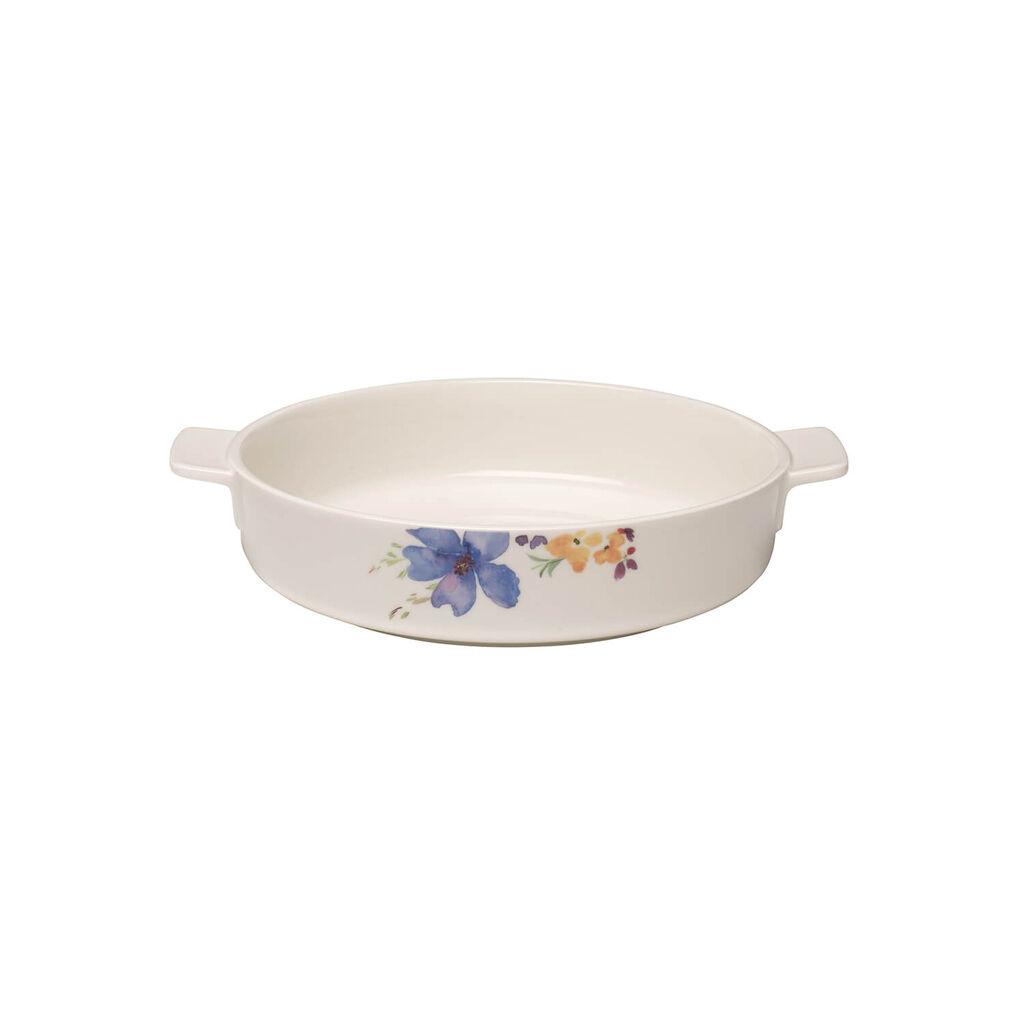 빌레로이 앤 보흐 마리플뢰르 라운드 베이킹 접시 Villeroy & Boch Mariefleur Basic Baking Dishes Round Baking Dish 9.5 in