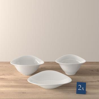 Vapiano Pasta, Salad & Soup Bowls, 2 of each