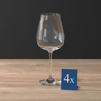 Purismo Intricate + Delicate Red Wine Goblet, Set of 4
