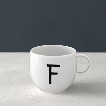 Letters Mug: F