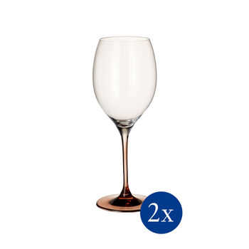 Manufacture Glass Bordeaux Goblet, Set of 2